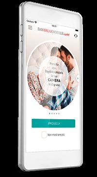 Lade gratis die neue App von DayBreakHotels herunter