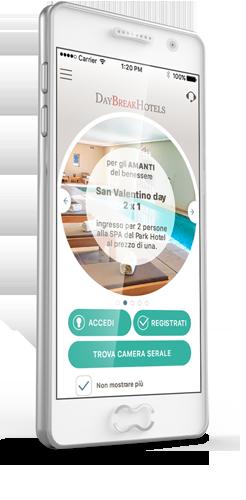Téléchargez gratuitement la nouvelle App de DayBreakHotels !